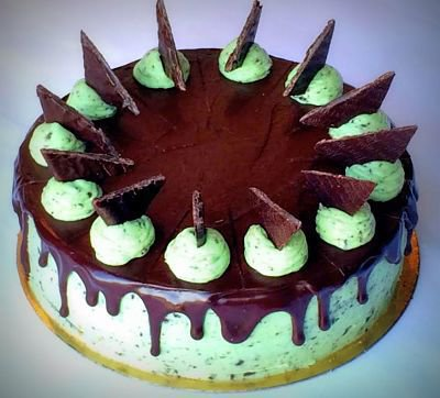 Piparmündi-šokolaaditort